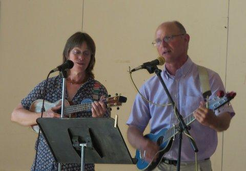 music at the Ukiah event