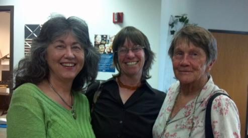 Karina Cotler, Kelly Larson, and Sandy Marshall.